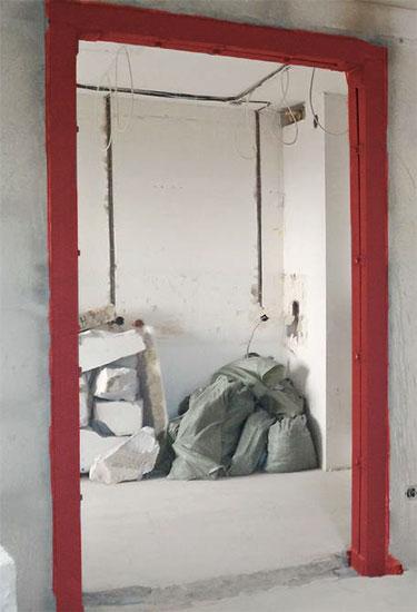 усиление проема в несущей стене